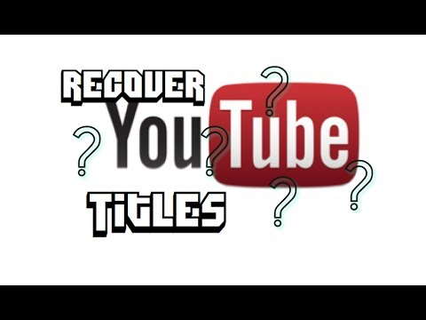 How to Find Deleted YouTube Videos