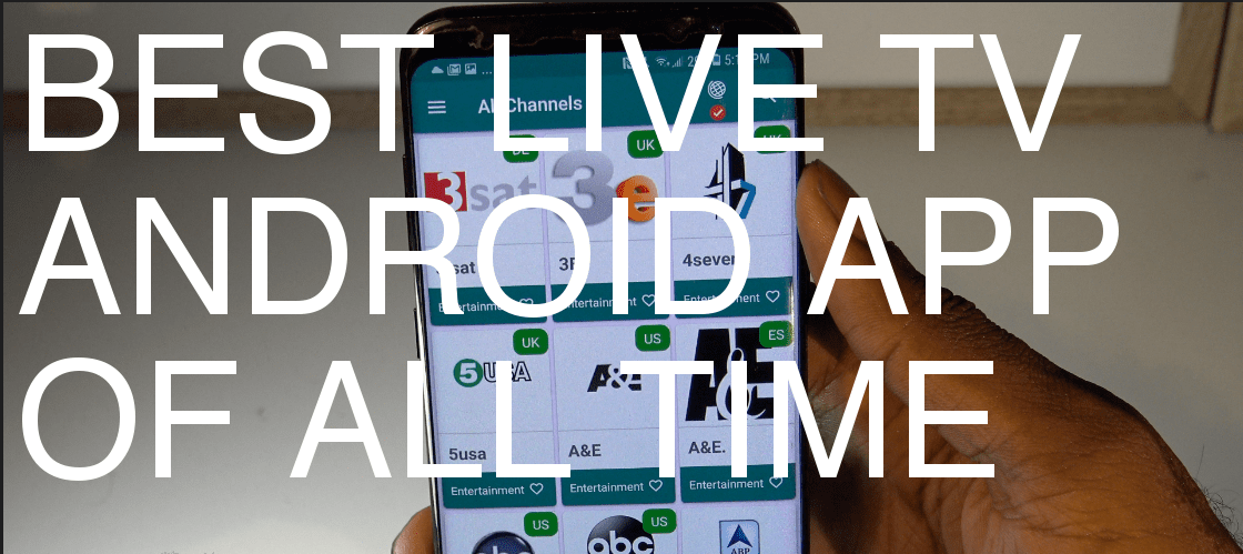 5 Best apps to watch live TV on android